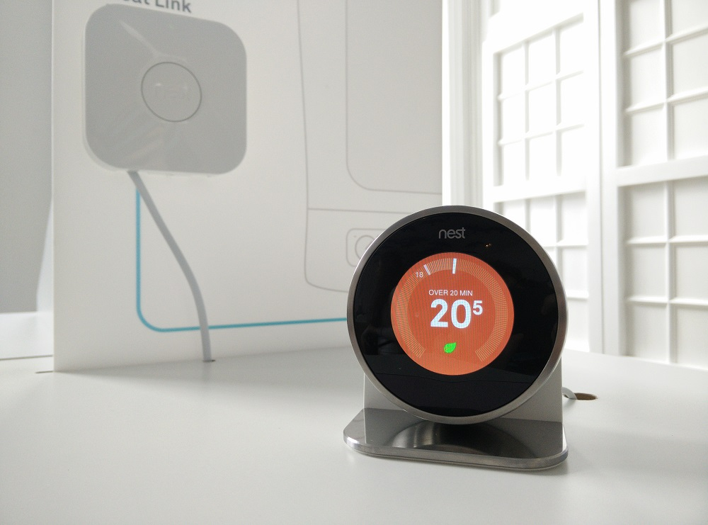 Nest thermostaat t.w.v. €249,- nu voor €49.-