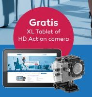 NHA opleiding | Gratis Windows Tablet of HD camera