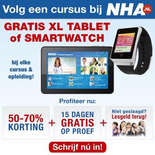 Werkloos of Switch | Start de beste beroepscursus bij NHA!