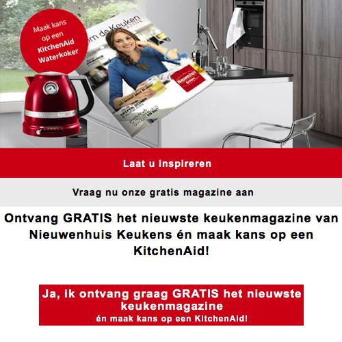 Nieuwenhuis Keukens nu gratis keukenmagazine!