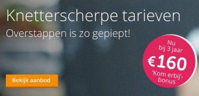 Nederlandse Energie Maatschappij met € 160,- bonus!