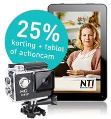 NTI opleidingen   Gratis iPad , tablet of camera!