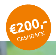 Nuon contract van 1 jaar nu €200.- retour!