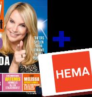 TV krant + Gratis HEMA cadeaukaart t.w.v. € 10,-