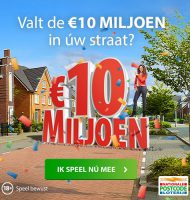 De hoogste prijzen bedrag ooit in Postcode Loterij