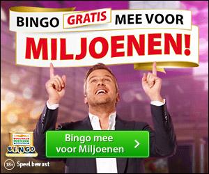 Kies je koffer in de Postcode Loterij Bingo!