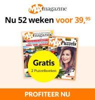 Max Magazine met 17% korting en Gratis puzzelboeken