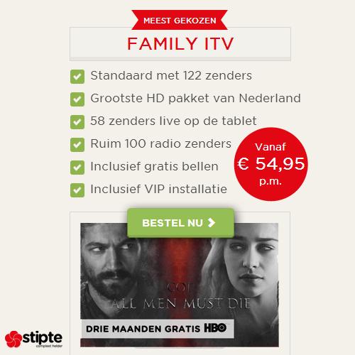 Stipte | Alles-in-1 met meeste zenders en HBO!