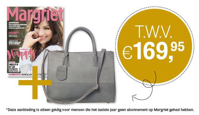 Margriet tijdschrift | Gratis Burkely-tas t.w.v. €169,95
