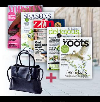 Neem nu een tijdschrift abonnement op uw favoriete magazine voor 99,95 euro en ontvang een Burkely tas t.w.v. € 149,95!
