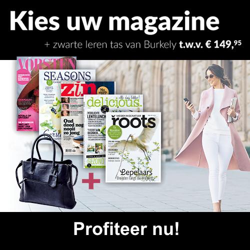 Tijdschrift Abonnement Gratis Burkely Tas Twv 14995