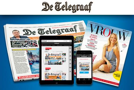 De Telegraaf digitaal slechts €9.95 per maand.