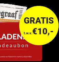 Lees de nu de Telegraaf 6 maanden met een korting van 50% en ontvang gratis cadeaubon voor €10.- korting op een tijdschrift abonnement naar keuze.