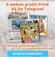 Telegraaf korting | Nu gratis Privé + Vrouw magazine.