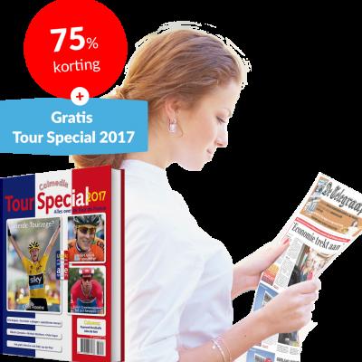 Telegraaf Tourspecial 2017 Gratis bij Abonnement!