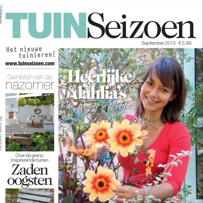 Tuin magazine TUINSeizoen met 44% korting.