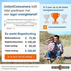 Energieprijzen | De laagste prijs bij UnitedConsumers