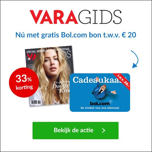 VARA Magazine + Gratis Bol.com cadeaubon t.w.v. €20.-