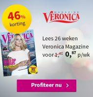 Tv gids Veronica met 46% korting!
