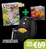 Veronica Tv gids + Inventum Air Fryer + receptenboekje nu eenmalig €69.-