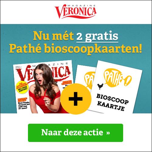 2 Gratis bioscoopkaartjes bij 10x Veronica Magazines!