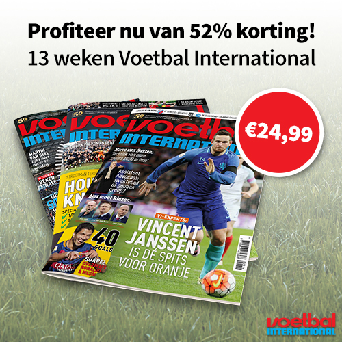VI korting   13 nrs nu €24,99   52% korting!