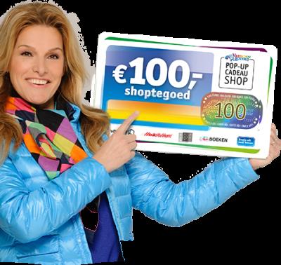 Vriendenloterij prijzen met direct € 100.- shoptegoed!