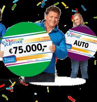 Een auto en Geld winnen in de Vriendenloterij