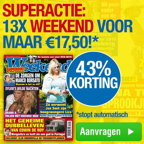 Weekend tijdschrift