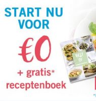 "Weight Watcher een maand gratis + ""Best of Kookboek"""