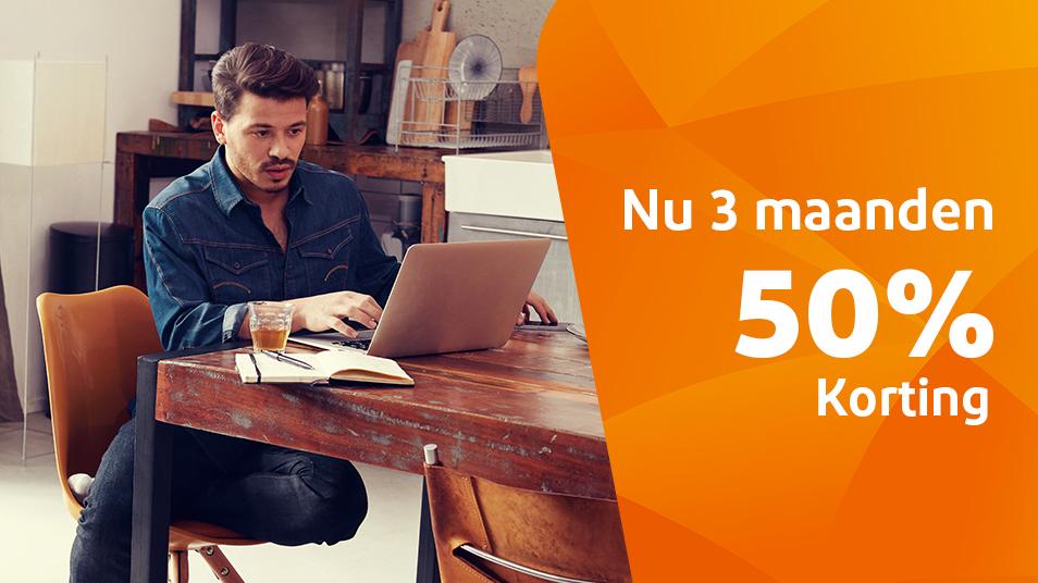 Ziggo zakelijk abonnementmet de eerste 6 maanden 50% korting. Dit kun je doen naast huidige provider en het resultaat vergelijken.