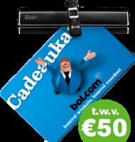 Ziggo abonnement + gratis Bol.com bon t.w.v. € 50,-