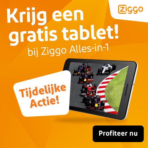 Ziggo Alles in 1 nu met gratis tablet